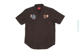 Tom & Jerry Short Sleeve Work Shirt by Supreme