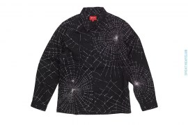 Spider Web Work Button-Up Shirt by Supreme