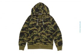 Ultimate 1st Camo Draw String Full Zip Hoodie by A Bathing Ape