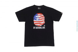 USA Classic Apehead Logo Tee by A Bathing Ape