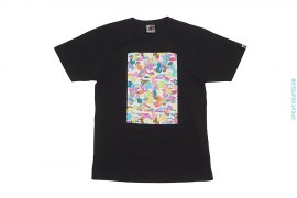 Multi Camo Box Tee by A Bathing Ape