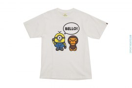 Bello Milo Tee by A Bathing Ape x Minions