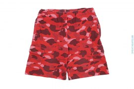 OG Color Camo Zip Pocket Cargo Sweatshorts by A Bathing Ape