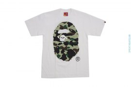 1st Camo Giant Apehead Straight Through Tee by A Bathing Ape