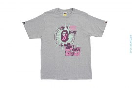Collaborative Program Space Cadet Tee by A Bathing Ape x BBC/Ice Cream