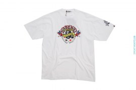 Cards Wing Sta Graphic Tee by A Bathing Ape