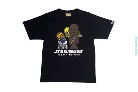 Chubakka R2D2 3CPO Milo Tee by A Bathing Ape x Star Wars