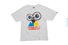 Ambushed Capsule Graphic Enzyme Wash Tee by A Bathing Ape x Ambush