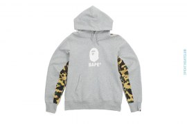 1st Camo Back Pullover Hoodie by A Bathing Ape
