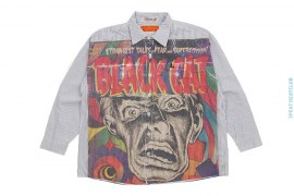 Sample #2 Artisan Sublimation Vintage Wash Workshirt by Art As Clothes