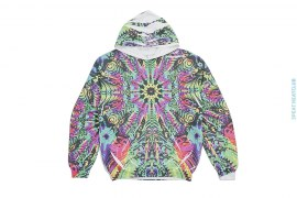 Sample #16 Artisan Sublimation Garment Print Pullover Hoodie by Art As Clothes
