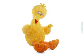 Big Bird Plush Doll by Kaws x Uniqlo x Sesame Street