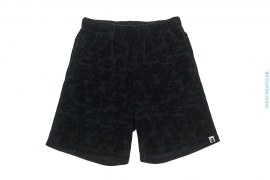 Jacquard Terrycloth Zipper Pocket Sweatshorts by A Bathing Ape