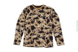 Psyche Camo Reversibe Tee by A Bathing Ape