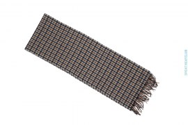 Plaid Scarf by Aquascutum