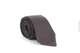 Polka Dot Silk Necktie by Hugo Boss