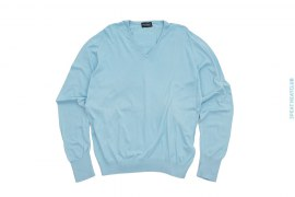 V Neck Sweater by John Smedley