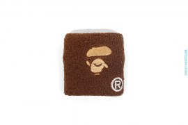 Apeface Terrycloth Wristband by A Bathing Ape