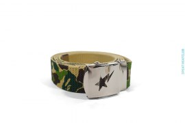 ABC Camo Canvas GI Belt by A Bathing Ape