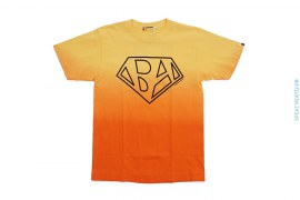Bapeman Dipdye Gradient Tee by A Bathing Ape