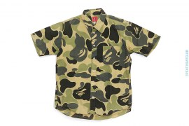 Zoom ABC Camo Short Sleeve Button-Up Shirt by A Bathing Ape