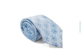 Silk Flower Tie by Hugo Boss