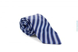 Gradient Border Silk Necktie by Paul Smith