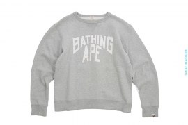 NY Logo Crewneck Sweatshirt by A Bathing Ape