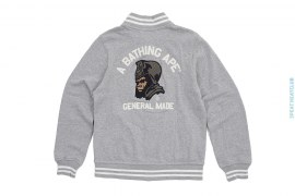 General Chain Stitch Sweat Varsity by A Bathing Ape