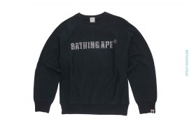 Bathing Ape Swarovski Rhinestone Long Sleeve Tee by A Bathing Ape