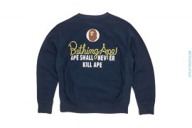 Rope Logo Champion Crew by A Bathing Ape
