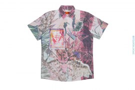 Sample #33 Artisan Sublimation Vintage Wash Short Sleeve Workshirt by Art As Clothes