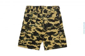 1st Camo Corduroy Cargo Shorts by A Bathing Ape