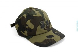 Woodland Camo 6 Panel Strapback by A Bathing Ape