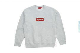 FW18 Box Logo Crewneck Crewneck Sweatshirt by Supreme