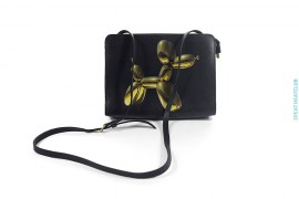 Limited Edition Leather Handbag by Jeff Koons x H&M