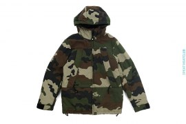 Woodland Camo Reversible Insulated Snowboard Jacket by A Bathing Ape
