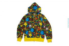 Milo Safari All Star Full Zip Hoodie by A Bathing Ape