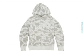 Color Camo BAPE Logo  Pullover Hoodie by A Bathing Ape