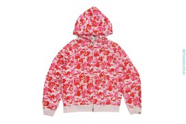 ABC Peeping Milo Camo Full Zip Hoodie by A Bathing Ape