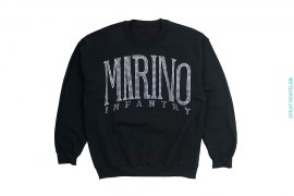 Sample Swarovski Logo Crewneck Sweatshirt by Marino Infantry