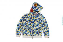 City ABC Camo Maebashi Shark Full Zip Hoodie by A Bathing Ape