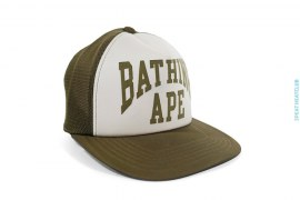 New York Logo Snapback by A Bathing Ape