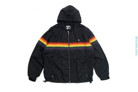 Rainbow Footsoldier Windbreaker Jacket by A Bathing Ape