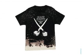 Bleach Dyed Concert Tee by Black Flag