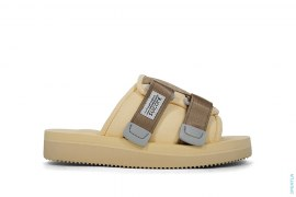 Double Strap Slip-on Slide Sandals by Suicoke x Golfwang