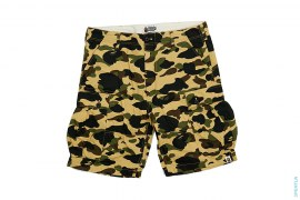 1st Camo Cargo Shorts by A Bathing Ape