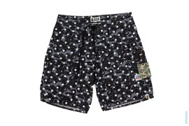 Polka Dot Abc Camo Beach Shorts by A Bathing Ape