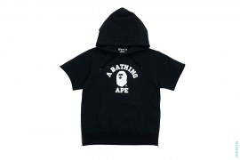 College Logo Double Side Zip Pullover Hoodie by A Bathing Ape