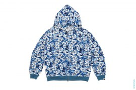 Aloha Hibiscus Camo Full Zip Hoodie by A Bathing Ape